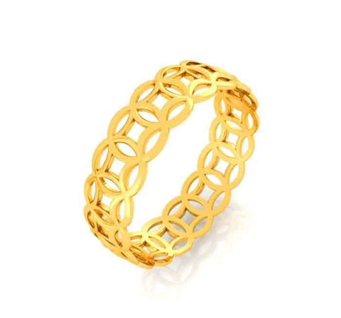 giá nhẫn kim tiền vàng 18K bao nhiêu