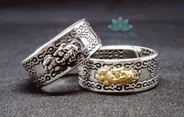 Nhẫn Tỳ Hưu Phong Thủy