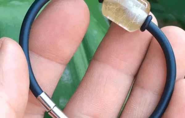 Vòng Tay Lu Thống Thạch Anh Tóc Vàng