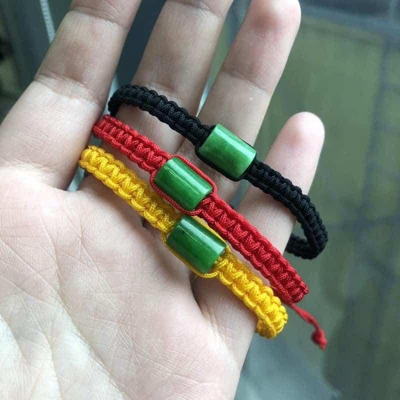 vòng tay lu thống ngọc bích