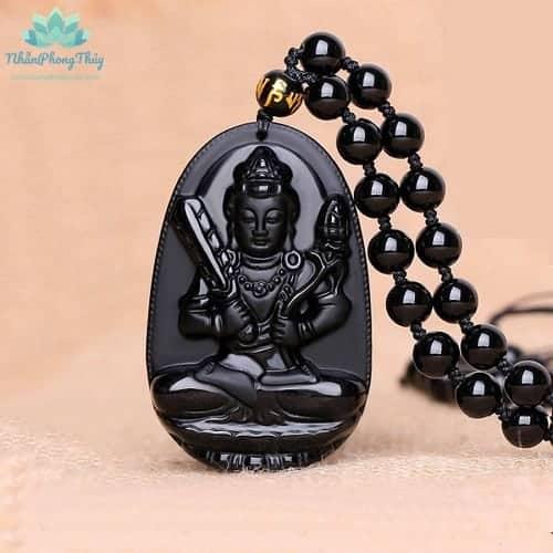 mặt dây chuyền Phật bản mệnh Hư Không Tạng Bồ Tát