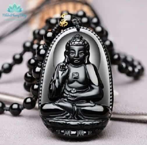 mặt dây chuyền Phật bản mệnh A Di Đà