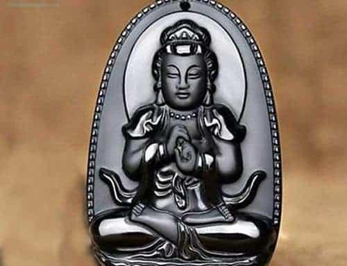 Dây Chuyền Mặt Phật Bản Mệnh Tuổi Mùi, Thân