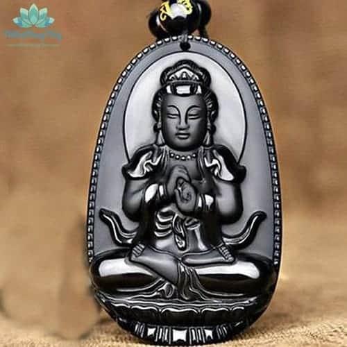 mặt dây chuyền Phật bản mệnh Đại Nhật Như Lai